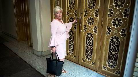 Det blir en hektisk dag for finansminister Siv Jensen. Klokken ti holder hun finanstalen i Stortinget der statsbudsjettet formelt legges fram.