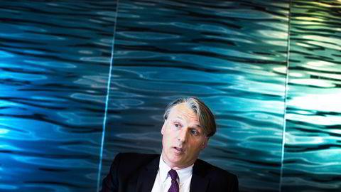 Höegh LNG-sjef Sveinung Støhle. Foto: Thomas T. Kleiven