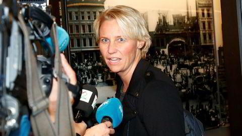 Oslo 20170912.Sentralstyremedlem Maria-Karine Aasen-Svendsrud foreslår en bot på 800 kroner for netthets.