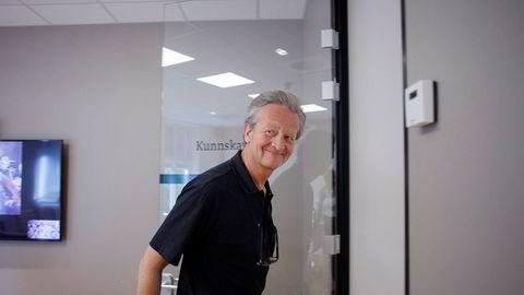 Hans Geelmuyden, pr-sjef i kommunikasjonsbyrået Geelmuyden Kiese, er mindre bekymret for at 81 ansatte har forlatt selskapet.