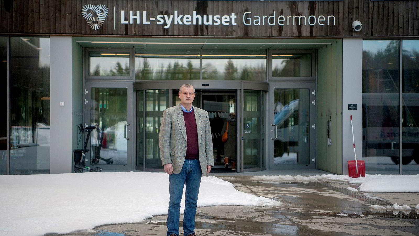 Frode Jahren sa i 2017 at LHL har kontroll på økonomien.