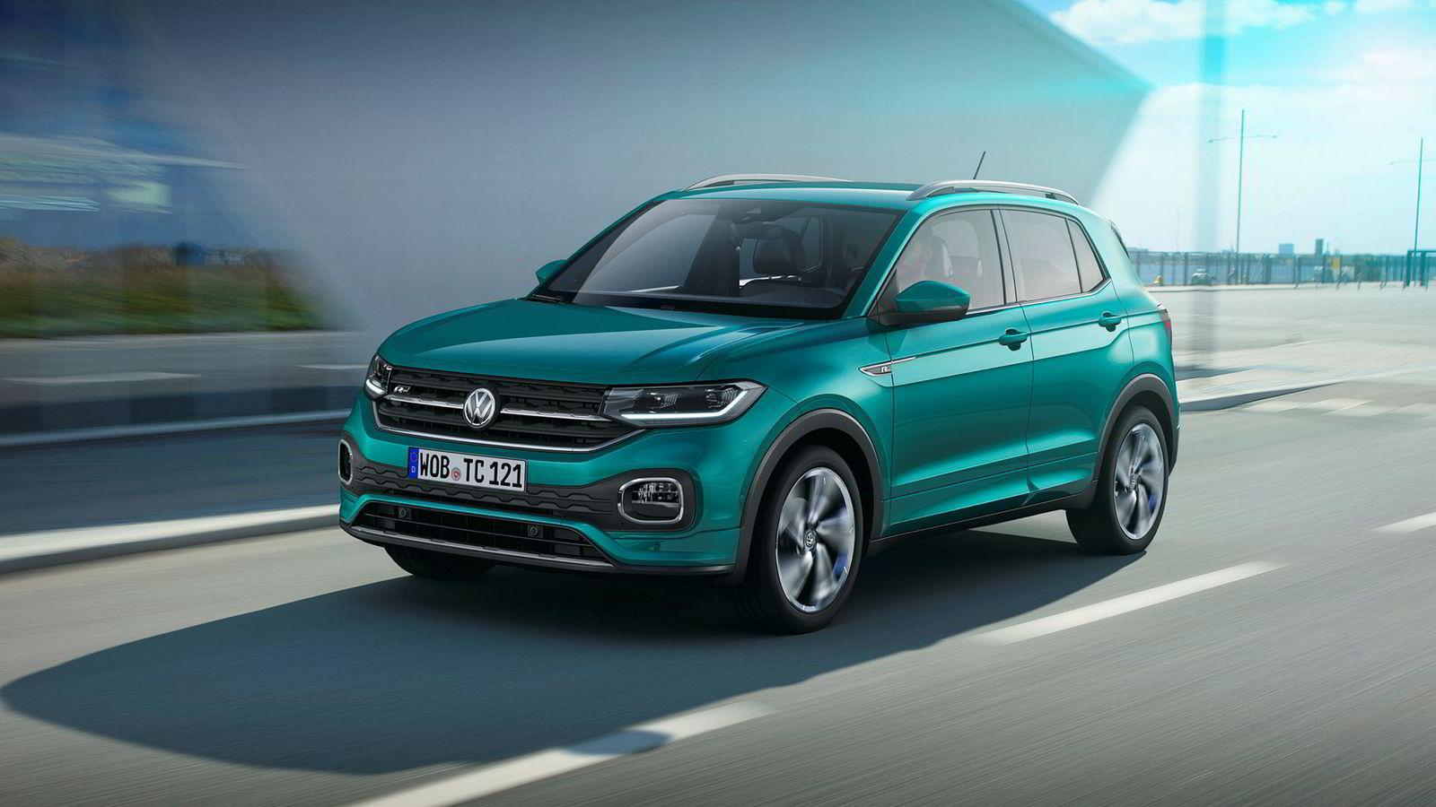 Volkswagen T-Cross går inn i den etter hvert rikholdige suv-porteføljen til Volkswagen.