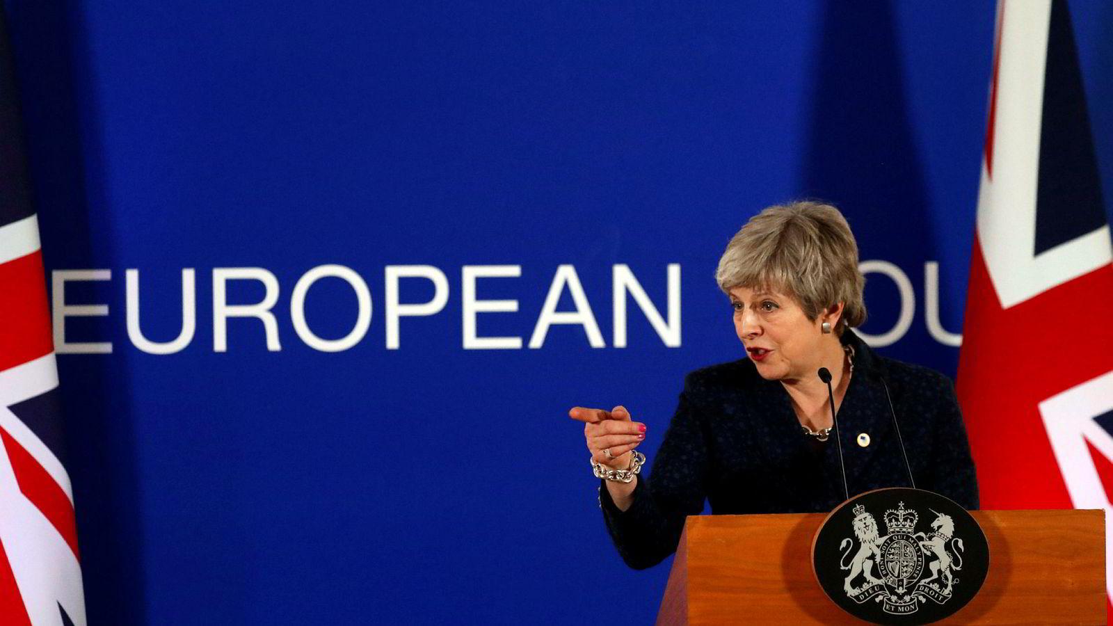 Statsminister Theresa Mays brexit-avtale har blitt nedstemt to ganger i Underhuset.