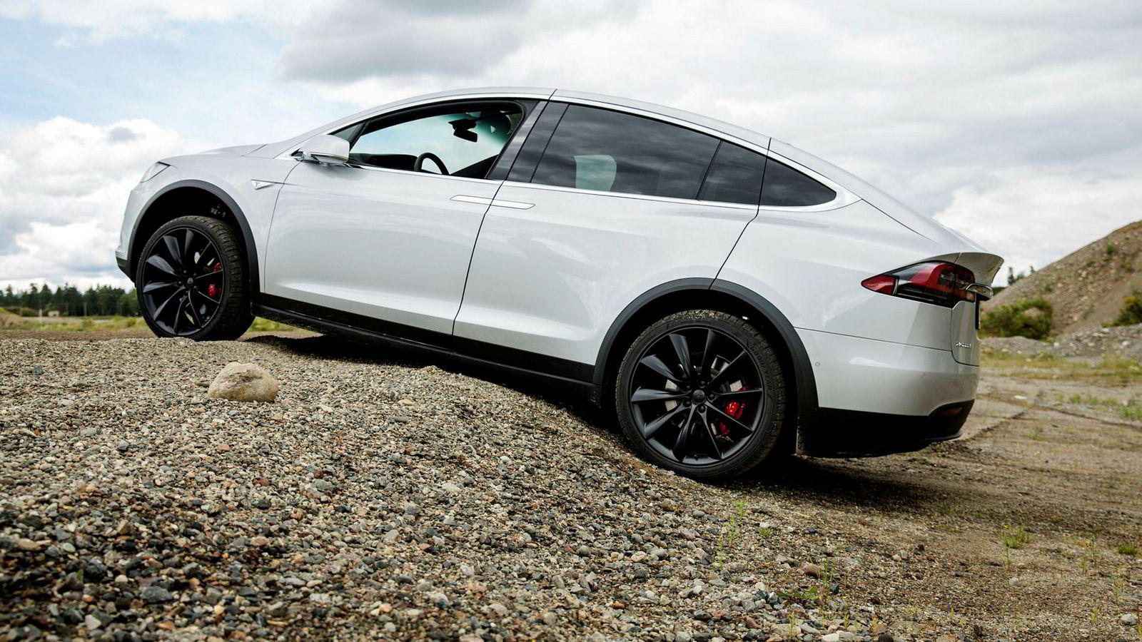 Med 1234 registrerte biler ble Tesla Model X den mest registrerte bilen i Norge i september.