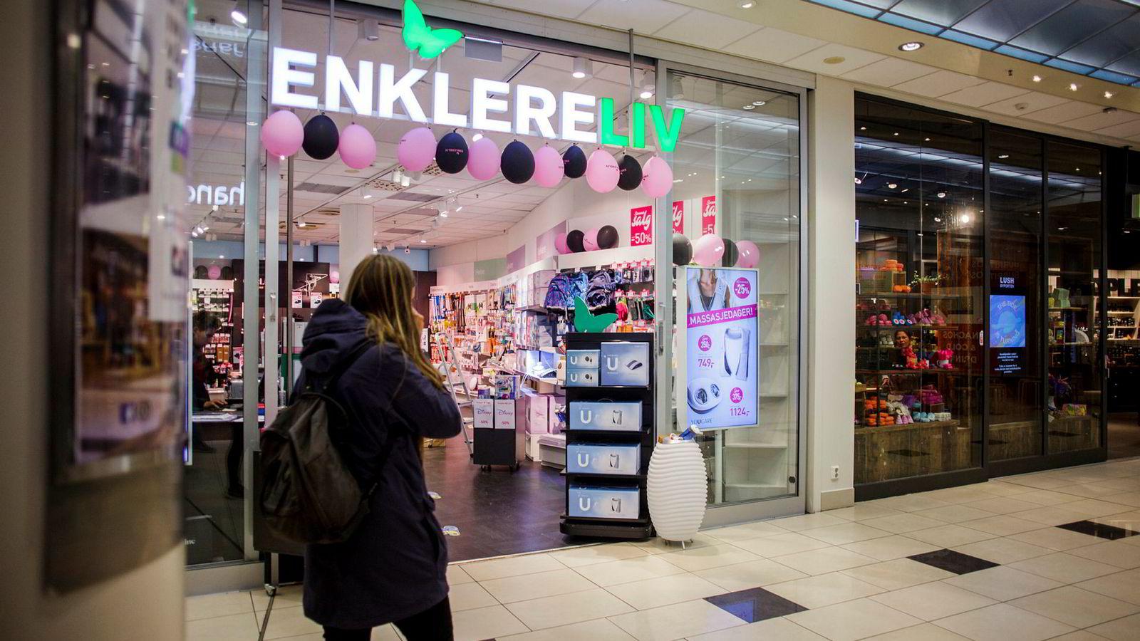 Antall konkurser i detaljhandelen øker kraftig. Butikkjeden Enklere Liv er en av 666 bedrifter innen denne sektoren som har gått konkurs eller er blitt tvangsavviklet i år.