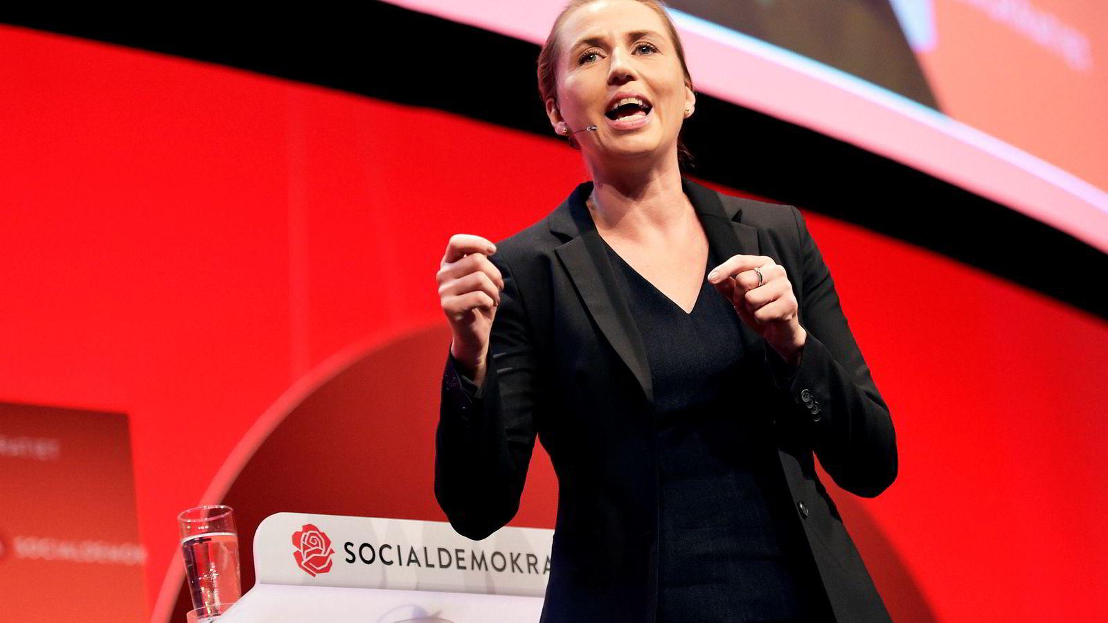 Socialdemokratiets leder Mette Frederiksen (41) er storfavoritt til å bli Danmarks neste statsminister.