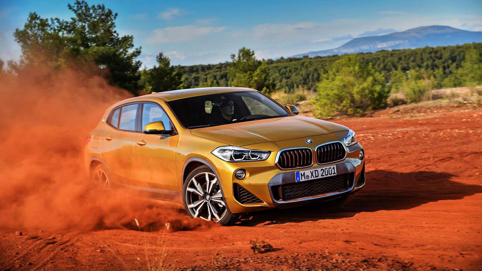 BMW X2 skal være et mer sporty alternativ til X1.