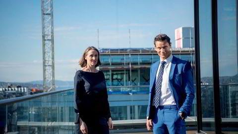 Advokat Hanne Zimmer og partner Geir Sviggum i Wikborg Rein overvåker brexit både fra Oslo og London.