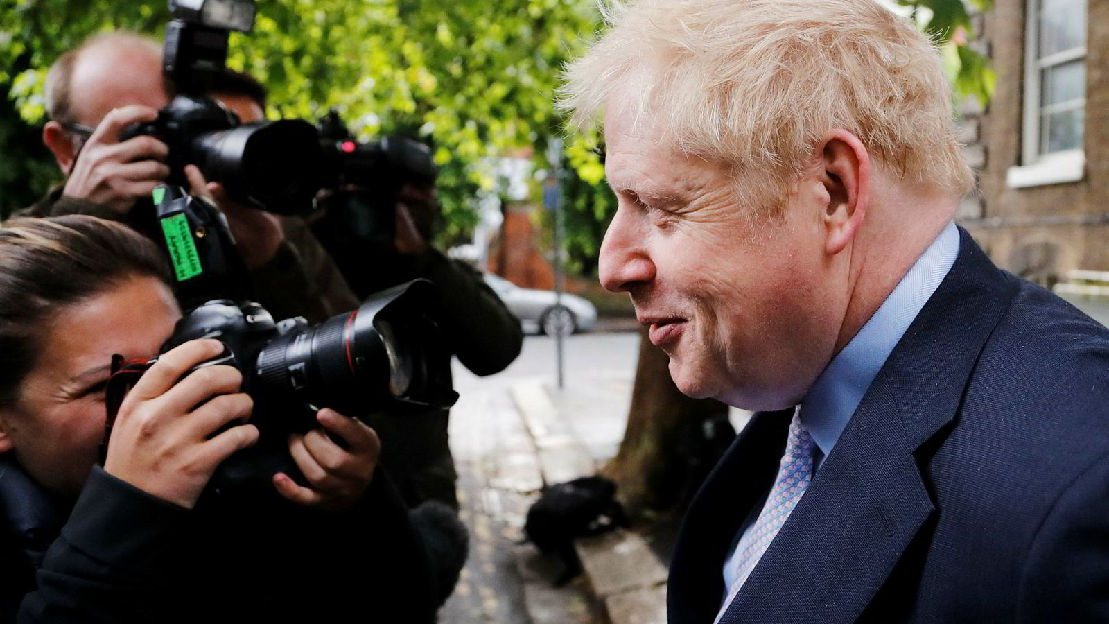 Boris Johnson er favoritt til å bli Storbritannias neste statsminister.