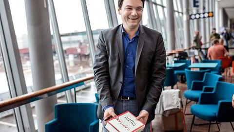 FORDELING, FORDELING, FORDELING. I det oljemette Norge er det så lett å ta over Pikettys perspektiv. Den eneste politiske oppgave vi har er fordeling, skriver Ole Gjems-Onstad.                   Foto: Klaudia Lech