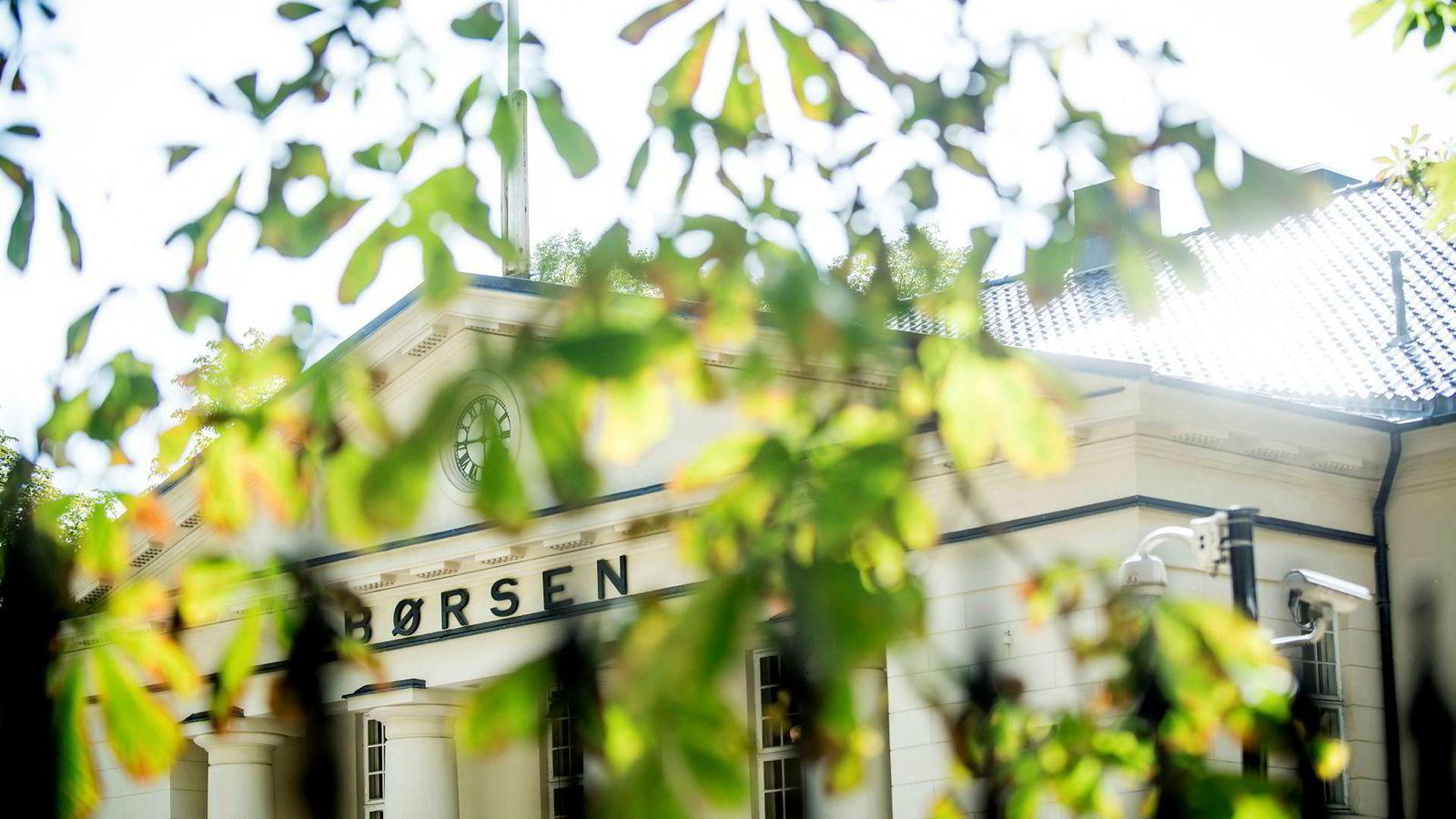 Oslo Børs er opp over ti prosent hittil i år.
