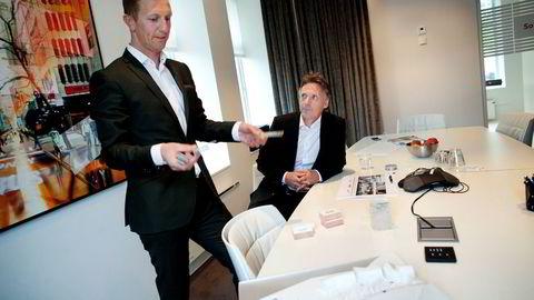 Kjetil Andersen (til venstre) og Alfred Ydstebø var en gang gode venner. Det er de ikke nå.