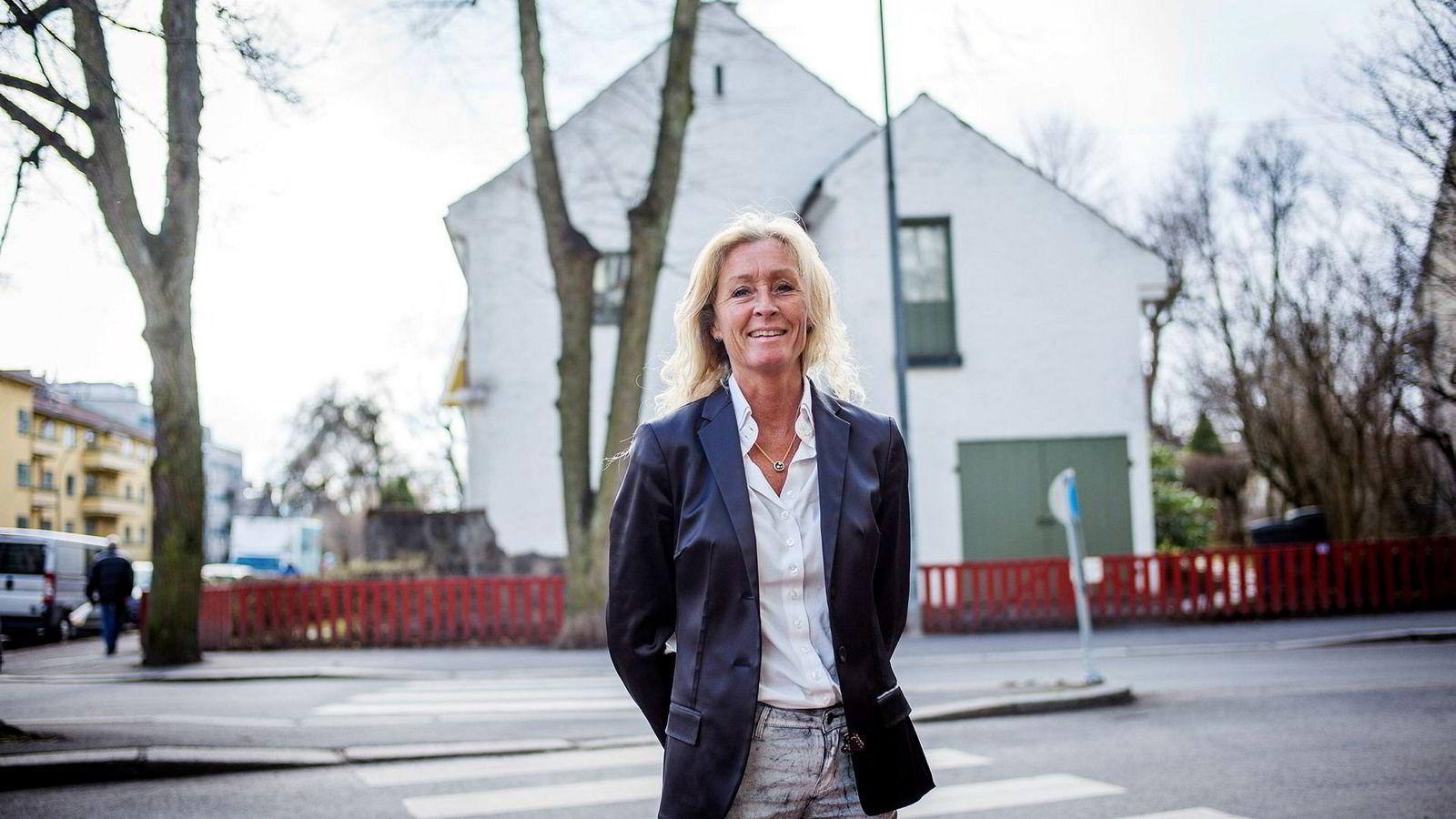 Eiendomsmegler Grethe Wittenberg Meier i Privatmegleren. ---
