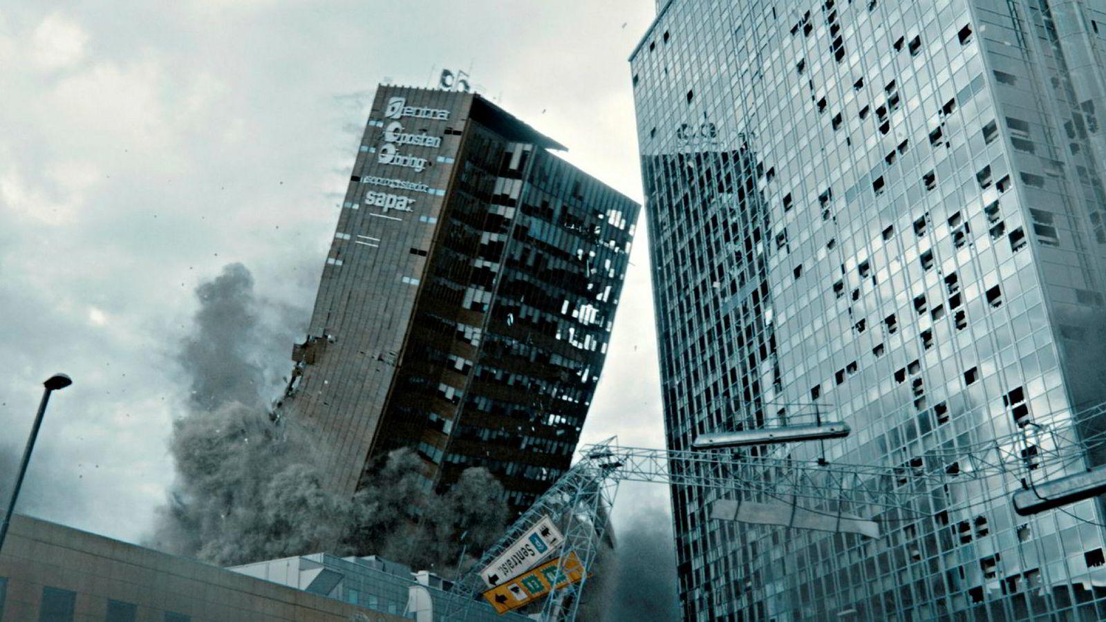 «Skjelvet» byr på et Oslo sentrum slik man aldri har sett det, og forhåpentlig kommer til slippe å se. Skjønt hvem vet.