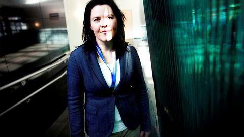 Sjeføkonom Elisabeth Holvik i Sparebank 1. Foto: Hampus Lundgren