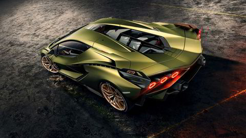 Lamborghini Sian.