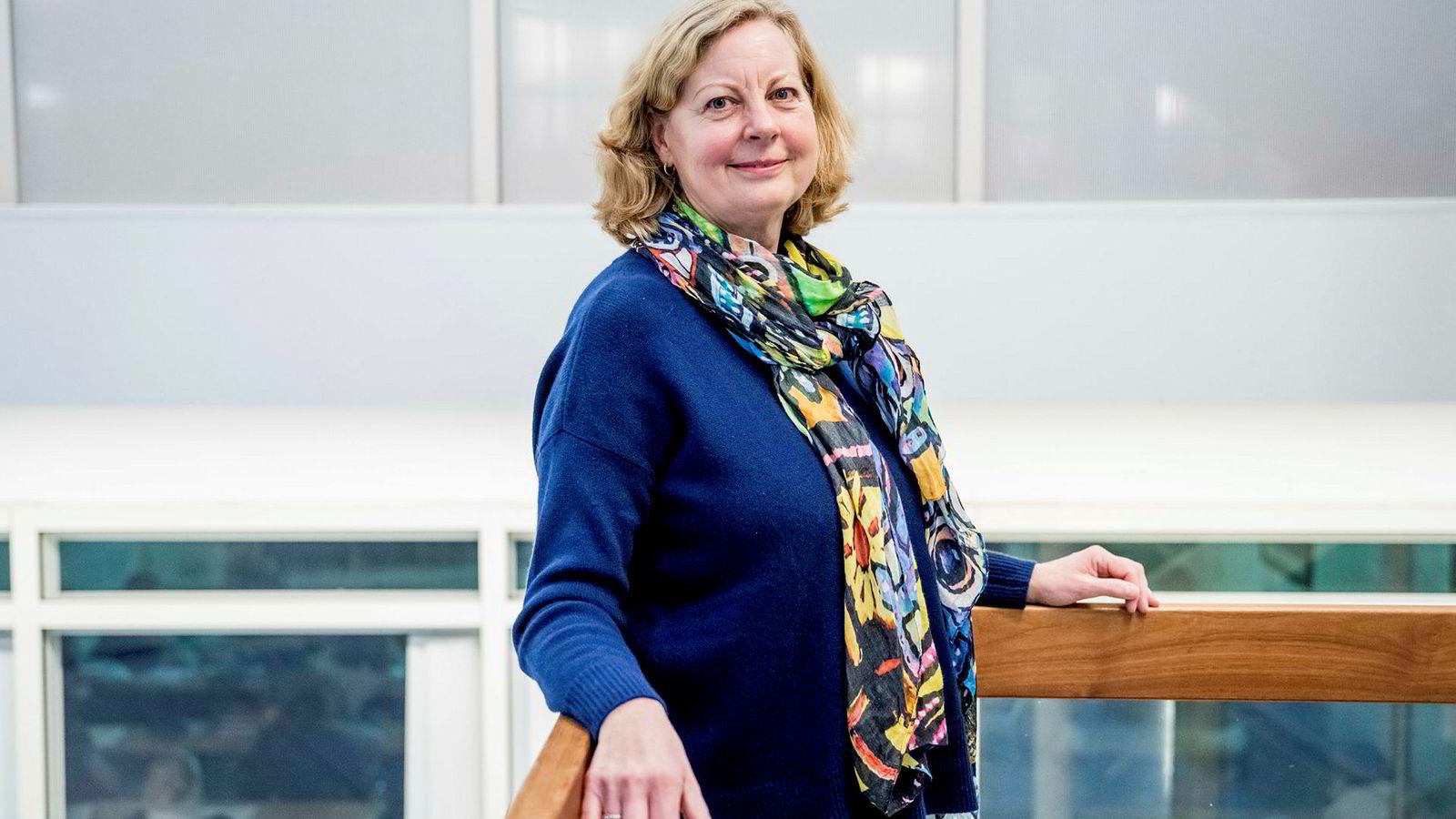 Berit Svendsen leder for Vipps sin internasjonale satsing. Her er hun fotografert ved en tidligere anledning.