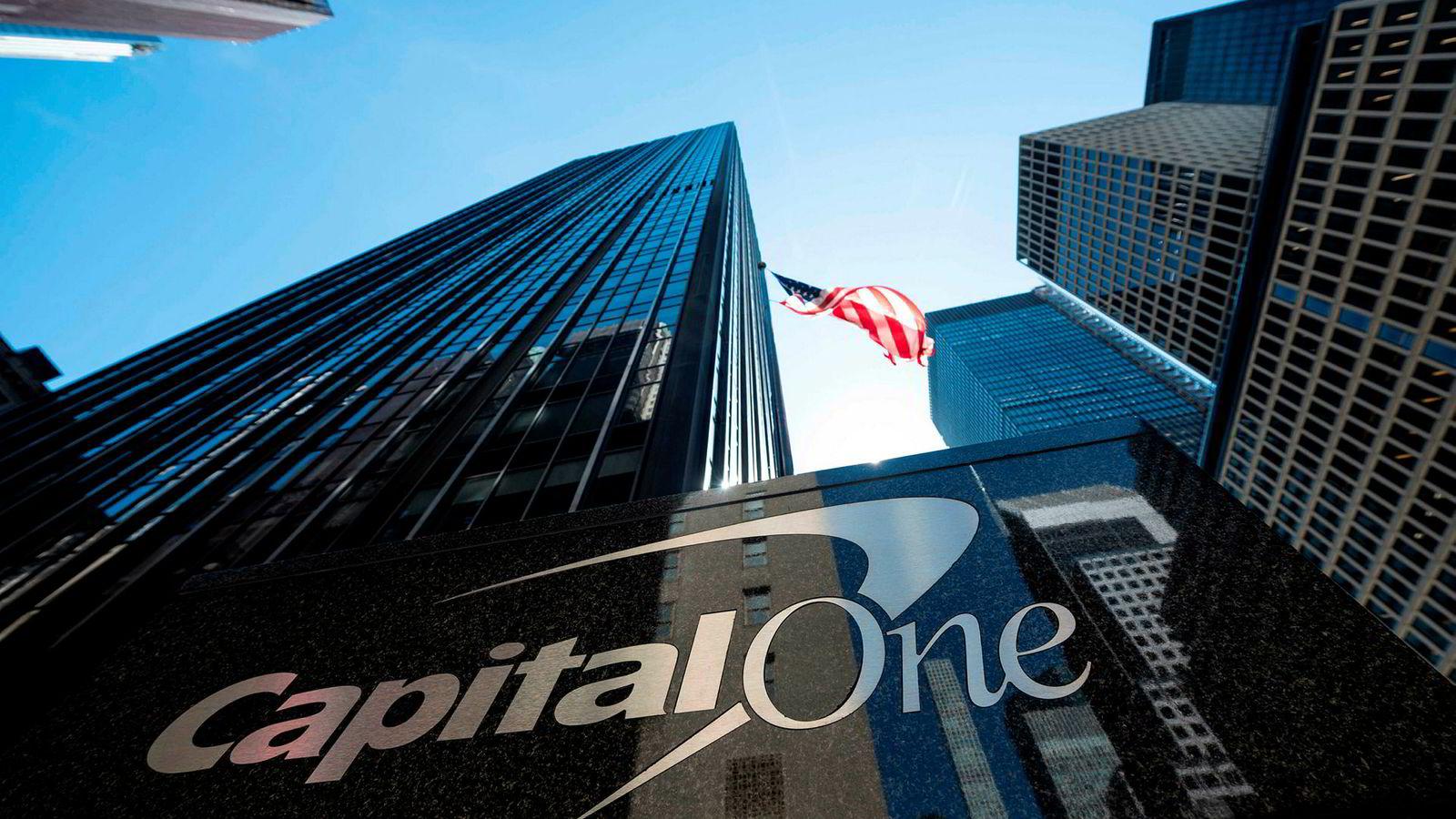 USAs femte største utsteder av kredittkort, Capital One, er blitt utsatt for et omfattende dataangrep