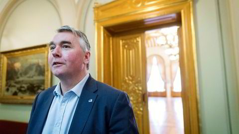 Parlamentarisk leder Trond Helleland i Høyre.