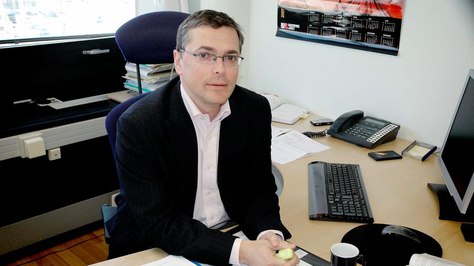 Advokat Nils Grytten i Ålesund mener ordningen med salg av fastlegepraksiser er godt gjennomtenkt.