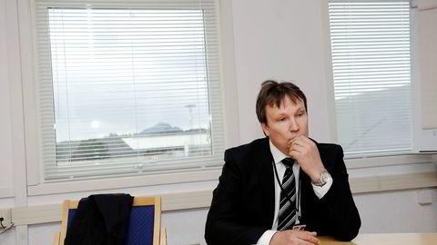 Administrerende direktør Arne Roland i CHC Helikopter Service. Foto: