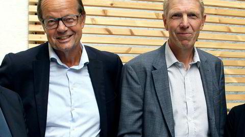 Fratrådt styreleder Jan-Erik Nielsen (til venstre) og direktør i Boligbygg Jon Carlsen ledet Boligbygg da det begynte å dukke opp spørsmål rundt det kommunale foretakets direktekjøp. Nielsen måtte gå, mens Jon Carlsen fortsatt sitter i direktørstolen.