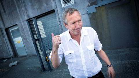 Skipsreder Ole Bjørnevik tror at oljeserviceskipene hans har ridd av stormen i oljeservicemarkedet. – Markedet er i ferd med å balansere seg. Nå er det bare å ta tiden til hjelp, sier han. Foto: Ole Morten Melgård