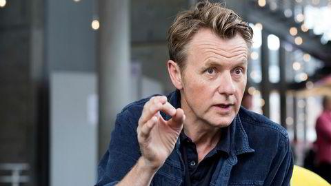 Fredrik Skavlan under TV 2s høstlansering 2019.