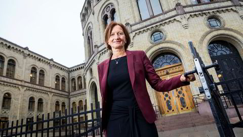Marianne Andreassen justerer rutinene på Stortinget.