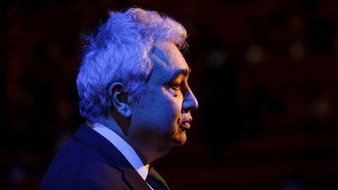 Toppsjef i Det internasjonale energibyrået, Fatih Birol.