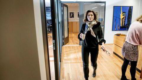 Kristin Skogen Lund er sjef i Schibsted ASA, som nå skiller ut den internasjonale rubrikkdelen som eget, børsnotert selskap.