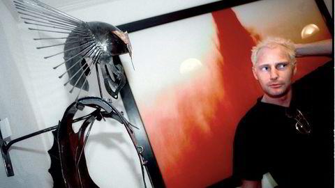 Kunstsamler Jack Helgesen (54) fra Heggedal hevder han har rett på to Bjarne Melgaard-malerier etter å ha levert sexleketøy til kunstneren. Helgesen har saksøkt Melgaards husgalleri, Rod Bianco Gallery i Oslo. Foto: Mikaela Berg