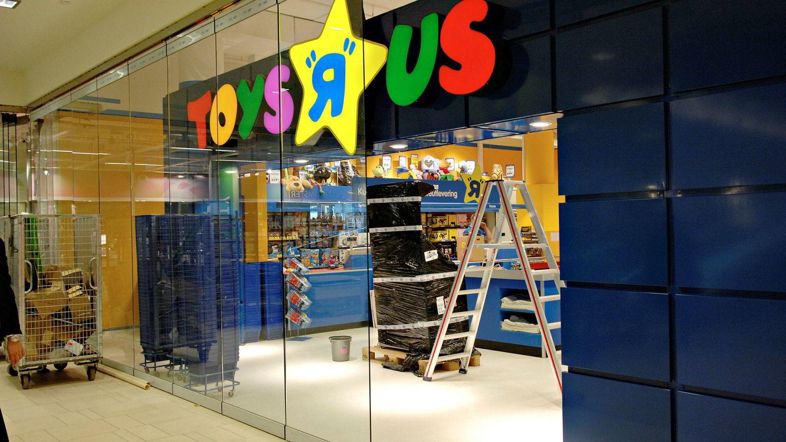 Eierne bak leketøysbutikken Toys 'R' Us, som blant annet finnes på Sandvika Storsenter, er konkurs.