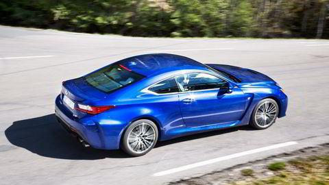 Lexus har for fjerde år på rad de mest fornøyde kundene.                   Foto: Hege Hegle