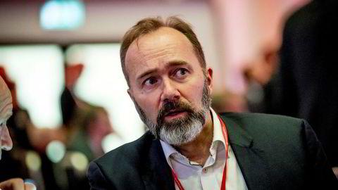 Trond Giske, her fotografert under Arbeiderpartiets landsmøte.