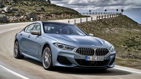 BMW 8-serie Gran Coupe går i strupen på Porsche Panamera.