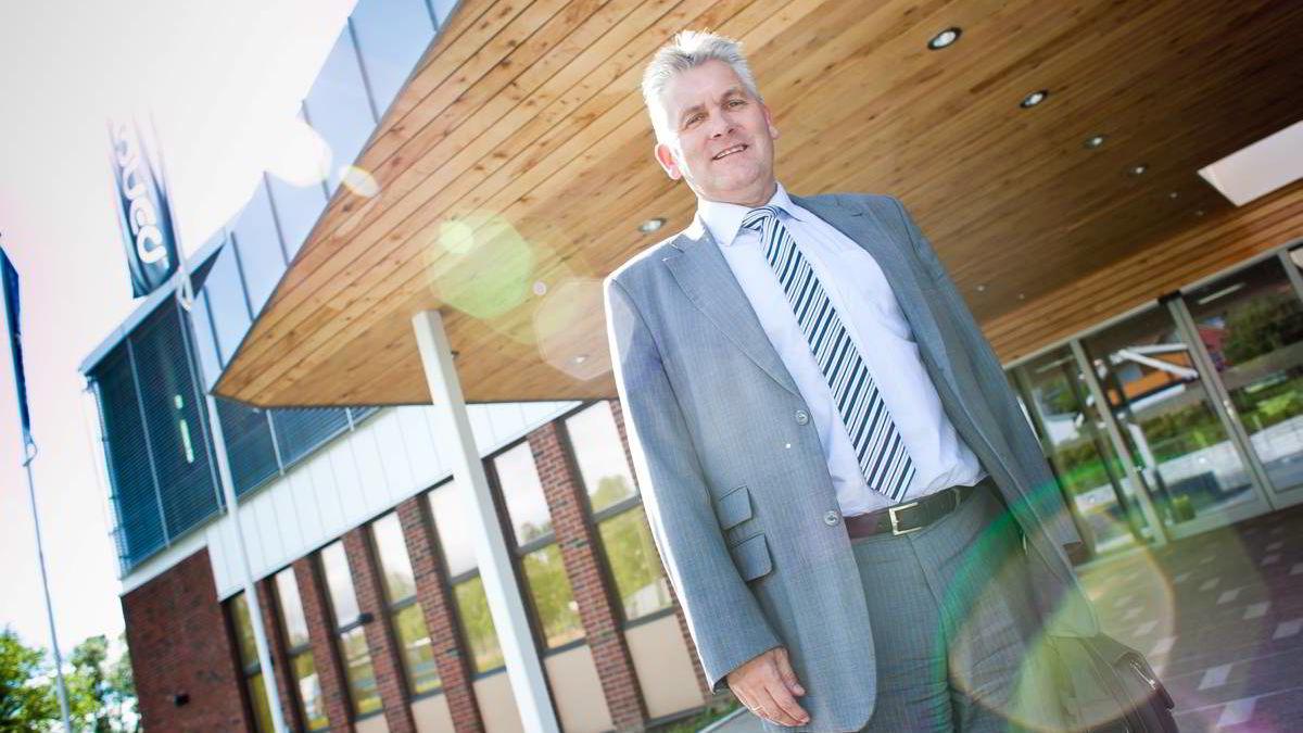 Konsernsjef Oddbjørn Schei i Troms Kraft har oppdaget at svensk datterselskap har manipulert regnskapet for 1,5 milliarder kroner.