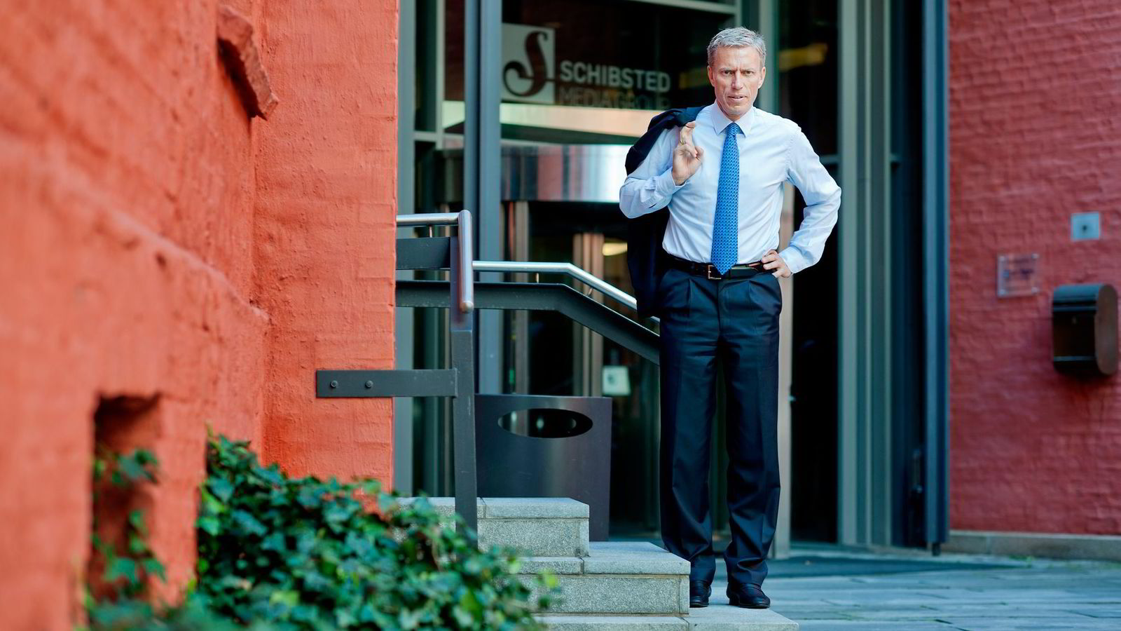 SVIKT. Schibsted rammes av papirannonsesvikt, men konsernsjef Rolv Erik Ryssdal er fornøyd med at inntektene fra online-rubrikker som Finn.no vokser. Foto: Silje Eide