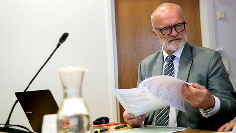 Advokat Erling Lyngtveit representerte den tidligere innkjøpslederen i Norgesgruppen som tilstår bestikkelser for 28 millioner kroner.