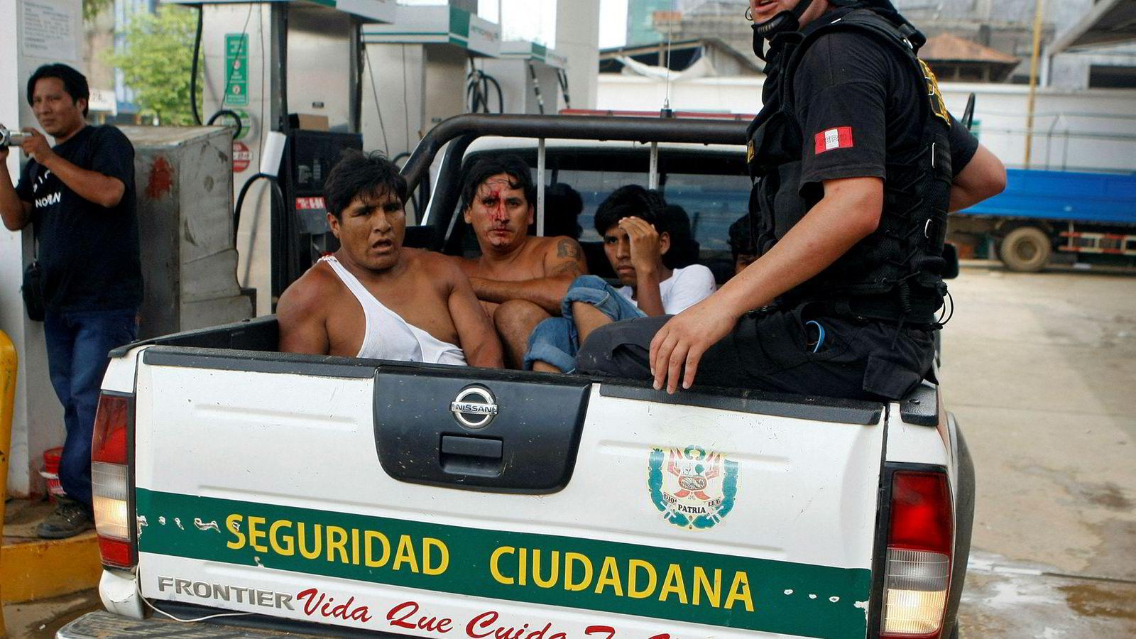 I flere år har det vært sammenstøt og konflikter mellom ulovlige gruvearbeider og politiet i Peru. Nå setter landet inn militæret.