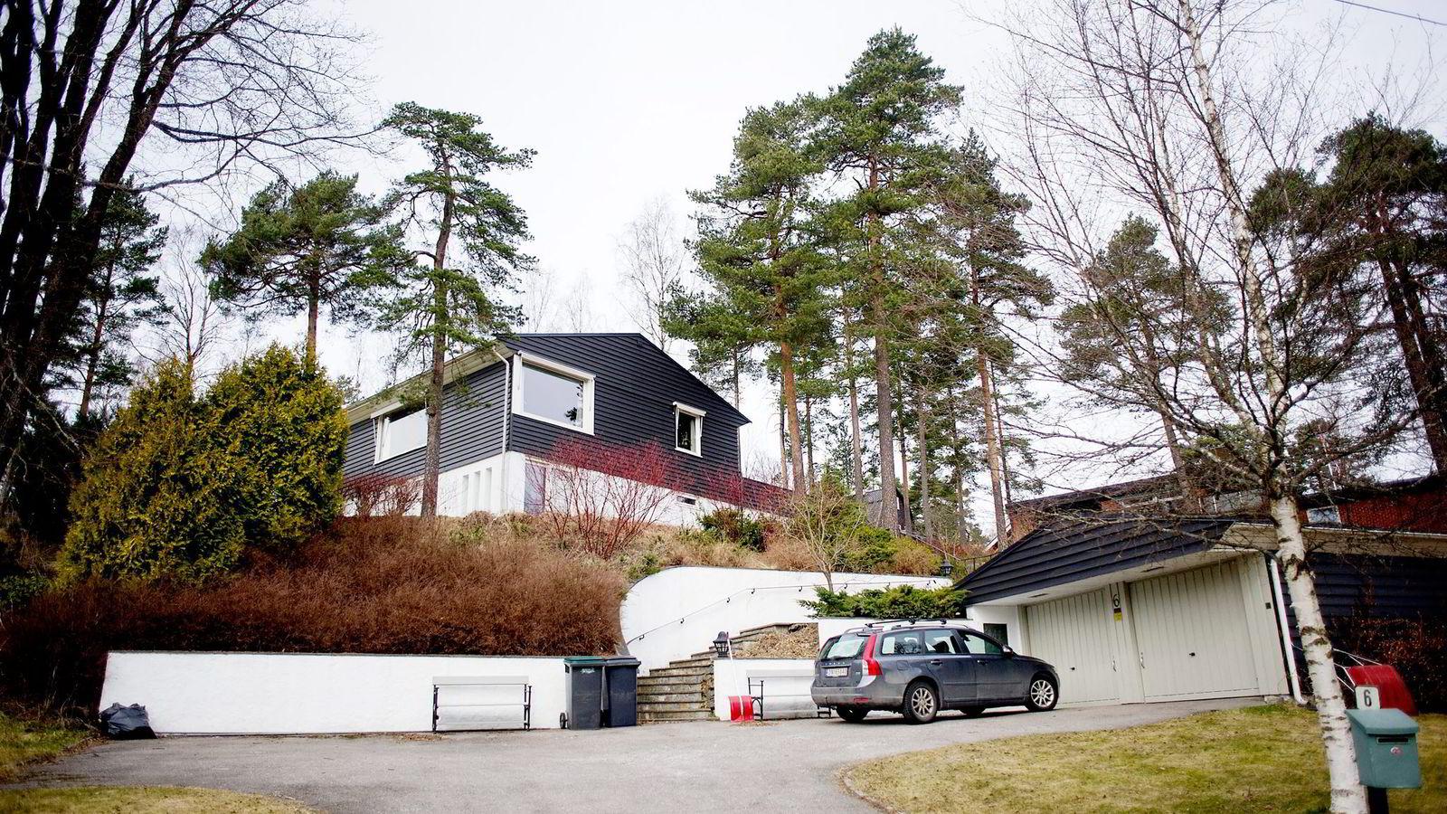 Ap-leder Jonas Gahr Støre brukte firmaet Malermester.pl til å male huset sitt (bildet) i Oslo i 2011. Firmaet markedsfører seg som mesterbedrift uten å være det.