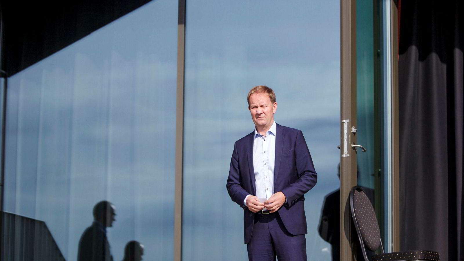 Lars Peder Solstad, Solstad-sjef .