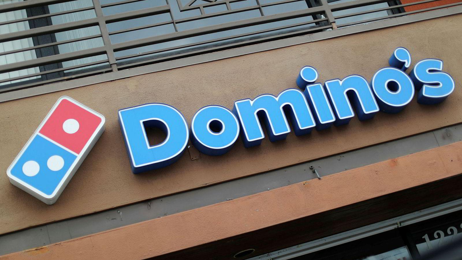 Pizzakjeden Dominos er konkurs i Danmark.