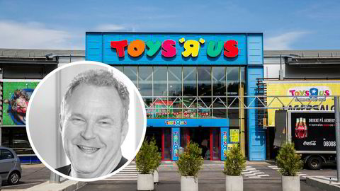 Hans-Petter Bjarøy, daglig leder i Bjarøy-gruppen, snapper opp konkursboet i Top-Toy Norge, som eier ToysRus og BR-leker i Norge. Her fra ToysRus på Alnabru i Oslo.
