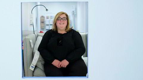IKEAs sjef i Norge, Clare Rodgers, valgte å legge ned servicesenteret på Skøyen.