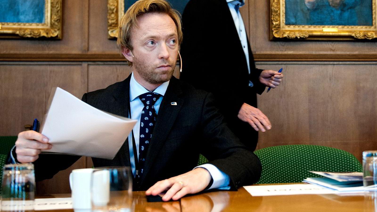 John-Ragnar Aarset går av som statssekretær for å bli ny generalsekretær i Høyre. Foto Melisa Fajkovic