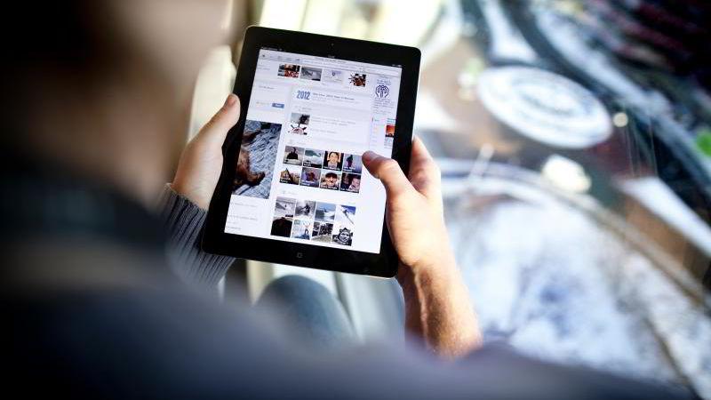 Internettbruken øker.