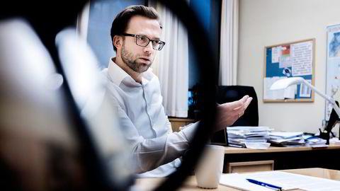 Høyres Nikolai Astrup får full støtte i partiets programkomité. Foto: Adrian Nielsen