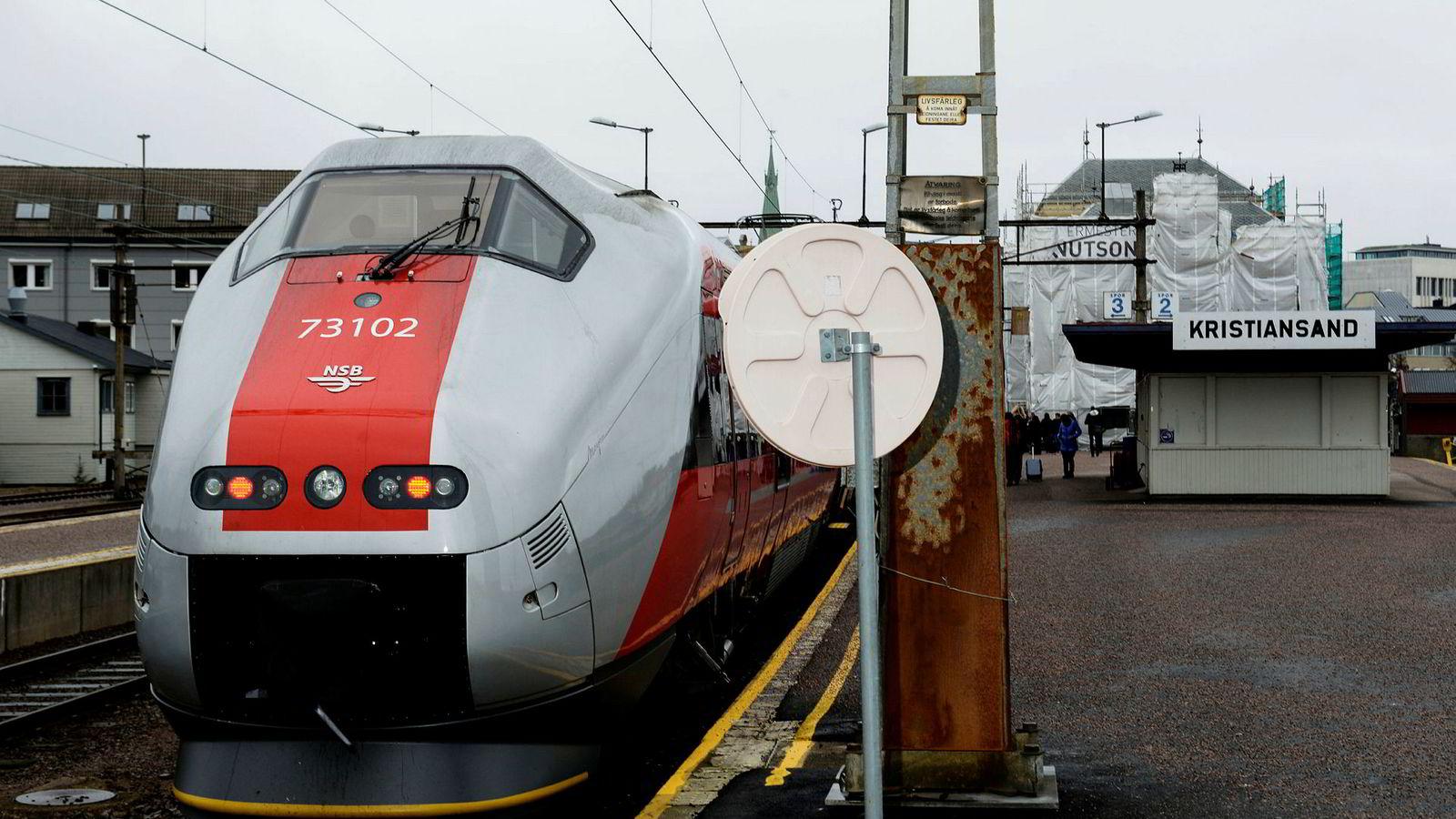 Det blir ingen ekstrarunde om togkonkurranse på Sørlandsbanen.