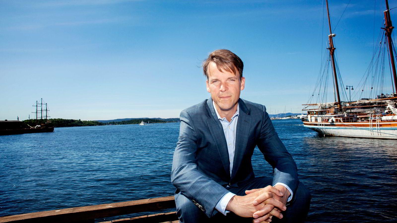 Partner Bjarne Lie i oppkjøpsfondet Verdane Capital tror på det grønne skiftet. Nå investerer fondet i dansk vindmølleteknologi Foto: